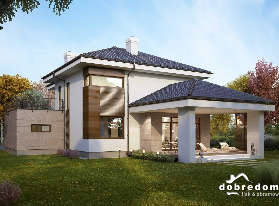 Nowoczesne domy oparte natechnologii smart home