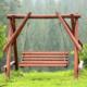 Huśtawki ogrodowe – przegląd modeli