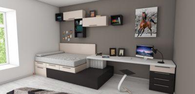Meble wielofunkcyjne domałego mieszkania