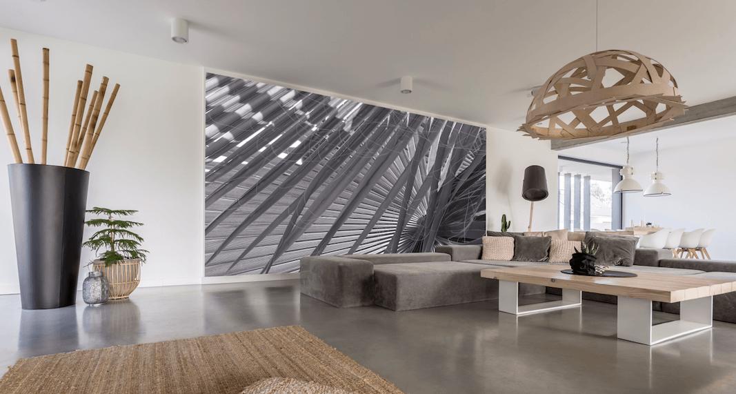 Fotorolety ifototapety – szybki iłatwy sposób nazmianę wnętrza