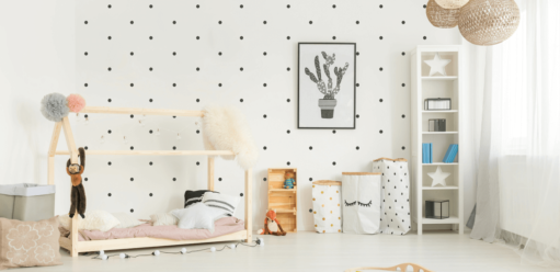 Ściany wpokoju dziecięcym – inspiracje