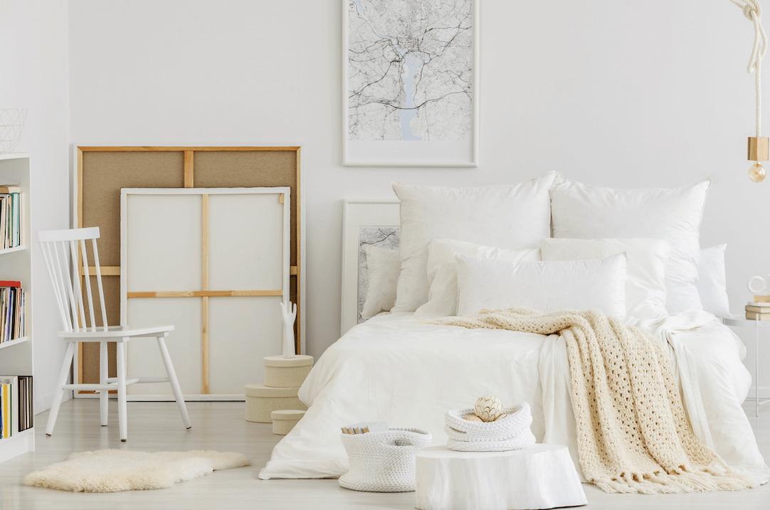 Stylowa iprzytulna sypialnia wbloku – pomysły iinspiracje