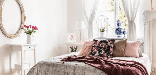 Różane printy, czyli styl angielski wewnętrzach