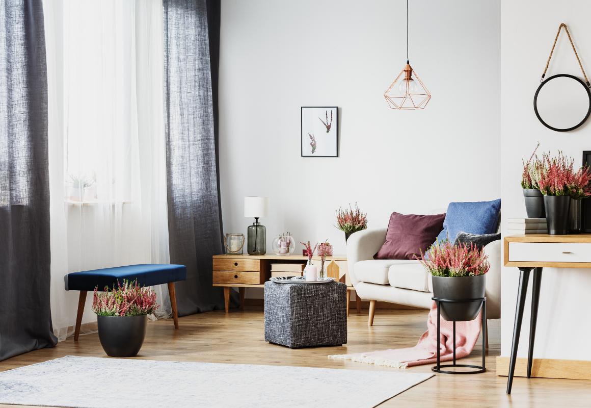 Nowoczesne kwietniki – kilka sposobów nawyjątkową roślinną dekorację