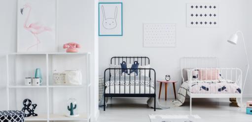 Jeden pokój, dwoje dzieci – jak stworzyć kącik dla każdej zpociech?