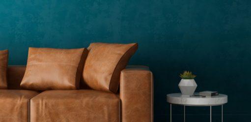Sofa rozkładana wsalonie