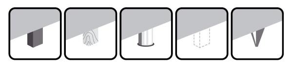 piktogramy - nóżki