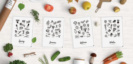 Plakaty dokuchni – 4 wzory, jakie można spotkać najczęściej