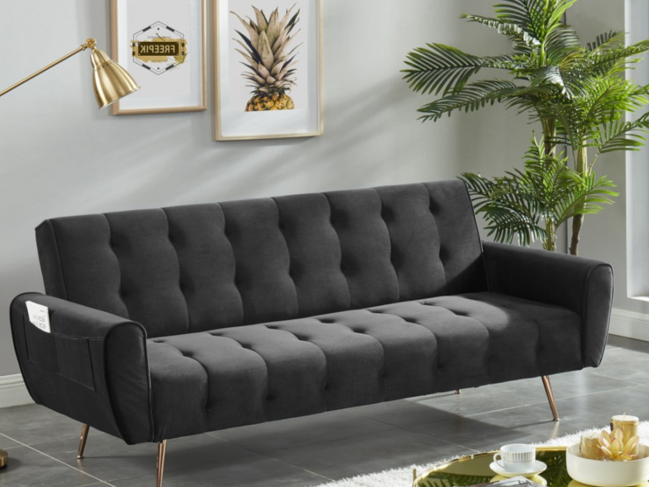 sofa czarna