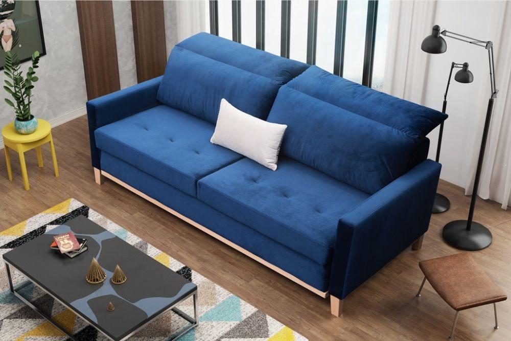 powierzchnia spania narozkładanej sofie
