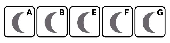 piktogramy - typ funkcji spania