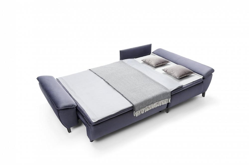 Sofa zwbudowanym materacem Faro