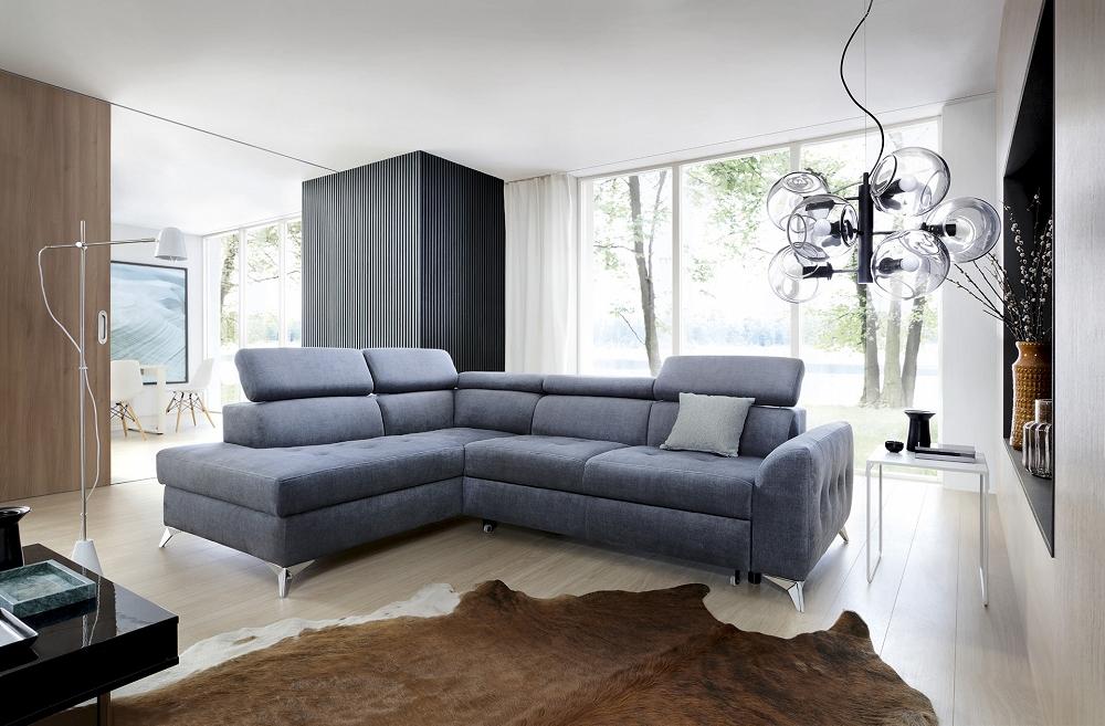 sofa szara