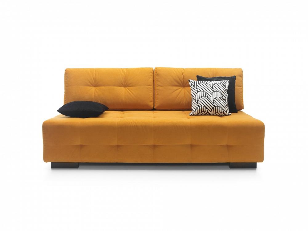Sofa zwbudowanym materacem Rocco
