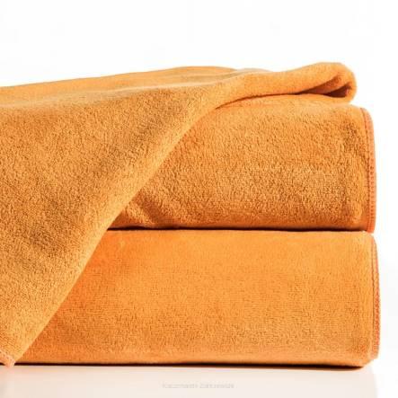 pomarańczowy ręcznik szybkoschnący