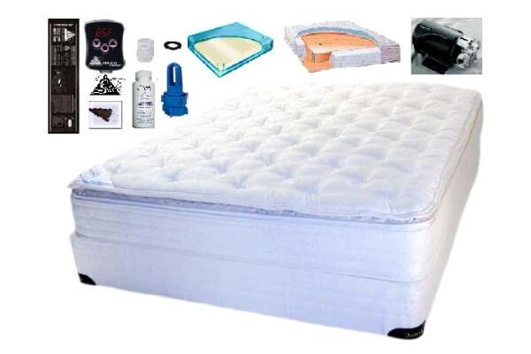 łóżka wodne podgrzewane