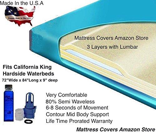 Łóżko wodne - Materac Cal-king 3000l