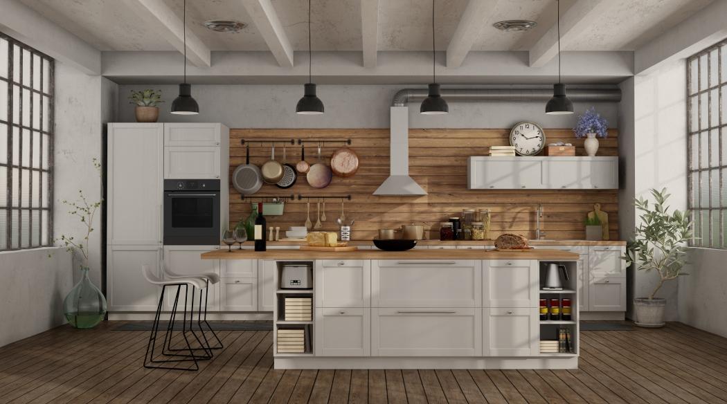 Kuchnia zwyspą – przegląd stylów wnętrzarskich