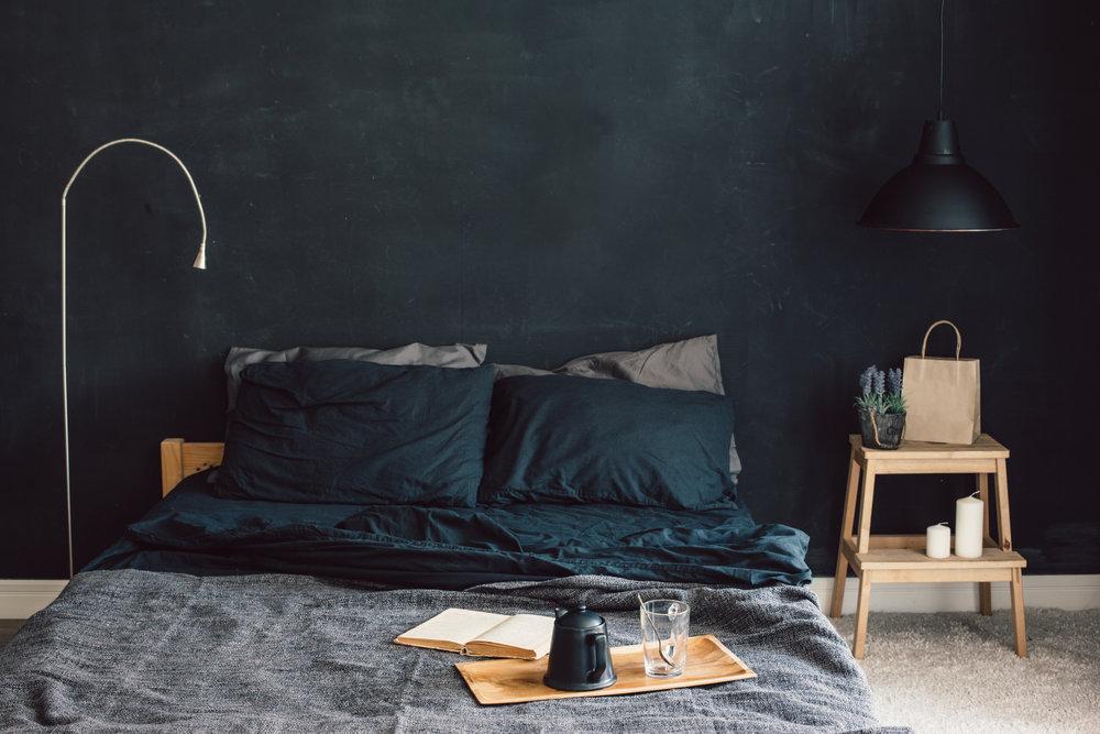 mieszkanie wstylu dark nordic
