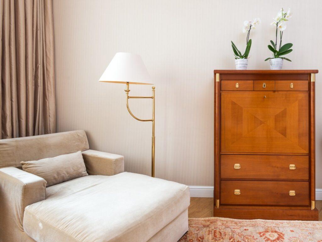 lampa doczytania sypialnia