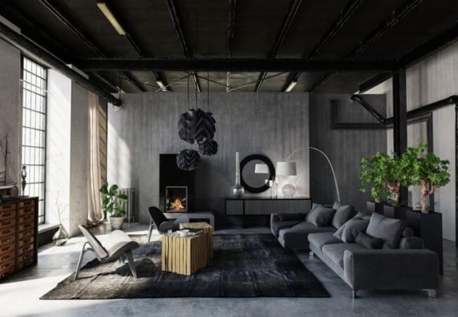 płytki betonowe - surowe ieleganckie