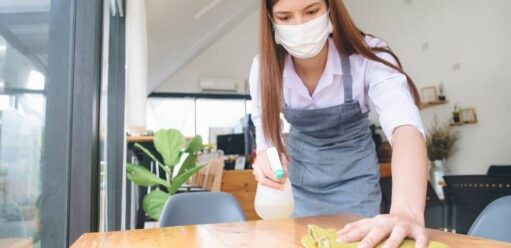 Jak dezynfekować pomieszczenia iznajdujące się wnich elementy wyposażenia?