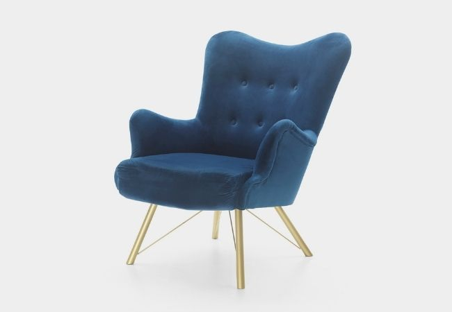 nowoczesny fotel uszak - model Metro