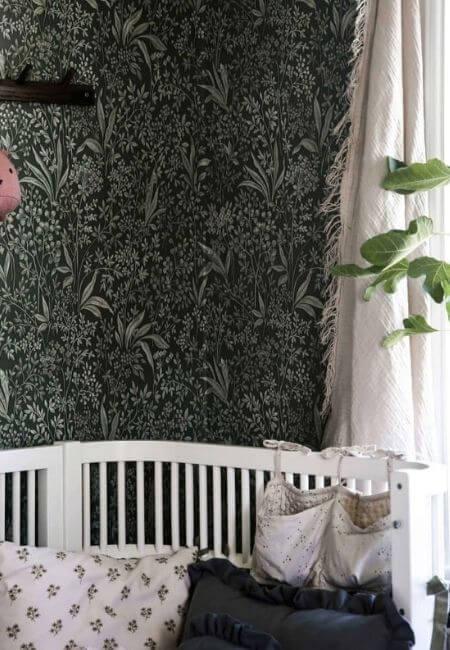 tapety zmotywem roślinnym - Boras Tapeter Nocturne Special Edition