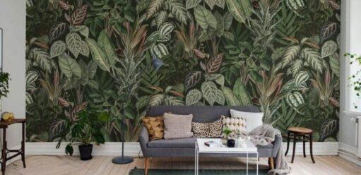 Tapety zmotywem roślinnym – dojakiego wnętrza?