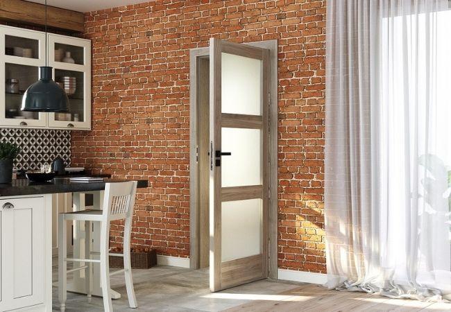 szare drzwi - Porta Verte Home
