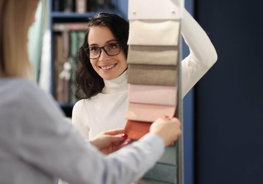 """""""Tkaniny według przeznaczenia"""" – jakie rodzaje materiałów zazwyczaj znajdują się wtakim zbiorze?"""